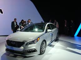 2015 hyundai sonata genesis and fuel cell tuscon debut gas 2