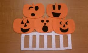 five little pumpkins sitting on a gate halloween songs for
