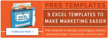 Excel Templates Free 9 Free Microsoft Excel Templates To Marketing Easier