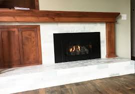 Convert Gas Fireplace To Wood by Home Projects Wood Burning Fireplace To Gas Insert Conversion