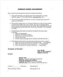 Assignment Form 29 Event Forms In Word