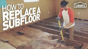 how to cut through subfloor how to remove and replace a rotten subfloor