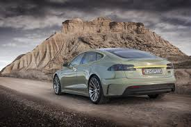 tesla model s concept photos of the day rinspeed u0027s tesla model s based autonomous