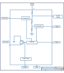 circuit diagram for generating time delay with 555 ic