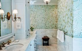 15 reasons to love bathroom wallpaper interior designs