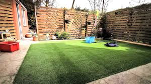 diy how to lay an artificial grass lawn turf timelapse with