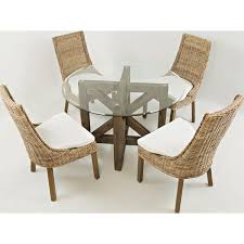wicker dining room chair dining room circular rattan furniture with cheap dining chairs