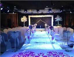 wedding backdrop led 3m 6m blue white color led curtain wedding stage backdrop