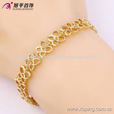 gold bracelet chain designs images China fashion 14k gold simple design bracelet from guangzhou jpg