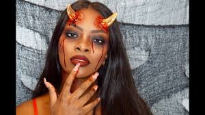 devil makeup tutorial halloween edition youtube