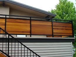horizontal deck railing ideas privacy u2014 railing stairs and kitchen