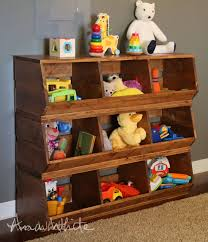 Free Wooden Garage Shelf Plans by Diy How To Build Wood Bins These Storage Bins Would Be Useful