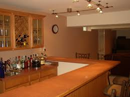 basement design plan for kitchen and bar ideas