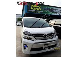 Pj Toyota Toyota Vellfire 2013 Z Platinum 2 4 In Selangor Automatic Mpv