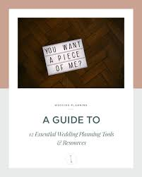 wedding planner tools 12 essential wedding planning tools resources uk wedding