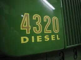 john deere 4320 diesel decal my favorite john deere u0027s