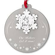 personalized ornaments at things remembered
