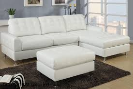 Chaise Lounge Leather Sofa Simmons Bonded Leather Sectional Faux Leather Sectional With