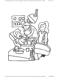 dentist coloring pages awesome dental coloring pages printable
