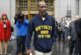 Bench Trial In A Sentence Rapper Dmx Checks Into Rehab To Finish His Sentence Daily Mail