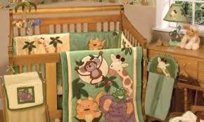 Sports Themed Crib Bedding Jungle Theme Crib Bedding Easy Nursery Decor