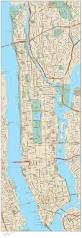 New York Street Map by Detailed Road Map Of Manhattan With Street Names Manhattan