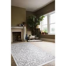 Home Dynamix Vinyl Floor Tiles by Home Dynamix Area Rugs Ramapo Rug 2919 123 Ivory Grey Ramapo