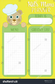 daily meal planner kids menu admissions advisor cover letter sales