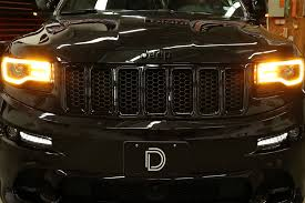 2017 jeep grand cherokee custom 2014 2017 jeep grand cherokee switchback drl led halos by diode