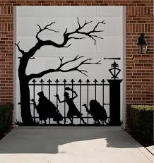 popular mural trees buy cheap mural trees lots from china mural hitchhiking ghost vinyl wall decal funny ghost big tree halloween mural wall sticker shop glass window