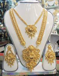exclusive smart gold plated jewellery ornaments rabaah1145