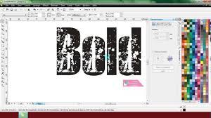 membuat efek stempel dengan photoshop tutorial membuat efek grunge di coreldraw belajar coreldraw youtube