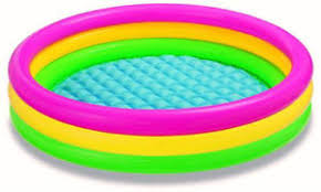 Inflatable Baby Bathtub India Intex Baby Bath Tub Kids Swimming Pool Inflatable 3 Feet Relax