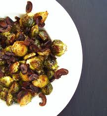 thanksgiving brussel sprouts bacon roasted brussels sprouts with u201cbaby bella u201d bacon bitsmushroom channel