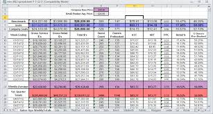 Spreadsheet For Sales Tracking by Booth Renter Products For Success