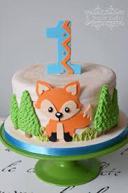 fox cake from a crafty like a fox birthday party on kara u0027s party