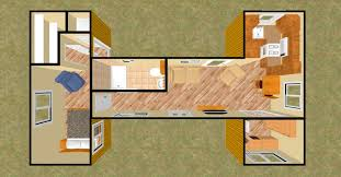 Shipping Container Homes Floor Plans Interesting 40 Foot Shipping Container Home Floor Plans Photo