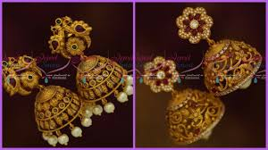 gold jhumka earrings design with price gold jhumka earrings design with price in india