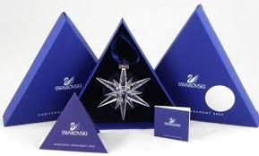 swarovski 2005 annual limited edition ornament mint in box