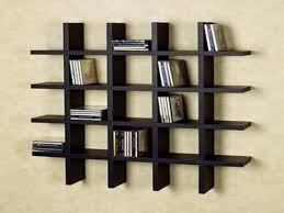 bookcases for small spaces wall bookshelves ideas half wall room