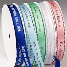 personalized ribbons personalized printed ribbons personalized ribbon personalized