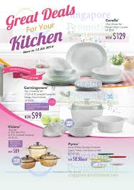 Corelle Outlets World Kitchen Corningware Corelle U0026 More Offers 17 Jun U2013 13 Jul 2014