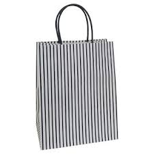 black and white striped gift bags white gift bags target