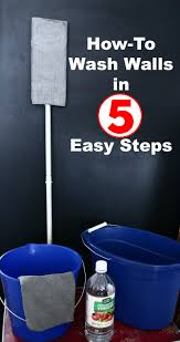 how to wash walls in 5 easy steps wash walls dishes and walls