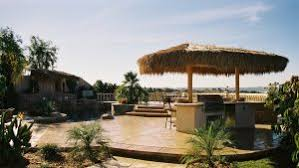 How To Build A Tiki Hut Roof How To Build Your Own Tiki Thatch Roof For Your Bar Backyard X