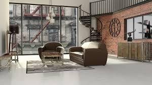 chambre industriel chambre ado garcon style industriel