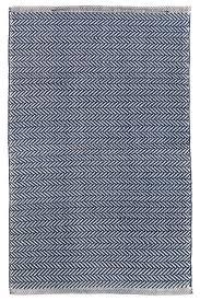 Outdoor Rug Material Herringbone Navy Ivory Indoor Outdoor Area Rug Rug Material