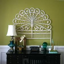wall ideas rattan starfish wall decor round wicker wall decor