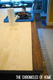 How To Install Butcher Block Countertops by How To Stain And Seal Butcher Block Counters The Chronicles Of Home