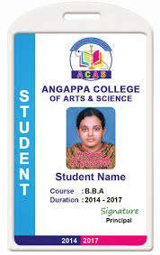 id card coimbatore ph 97905 47171 college id card template 1407